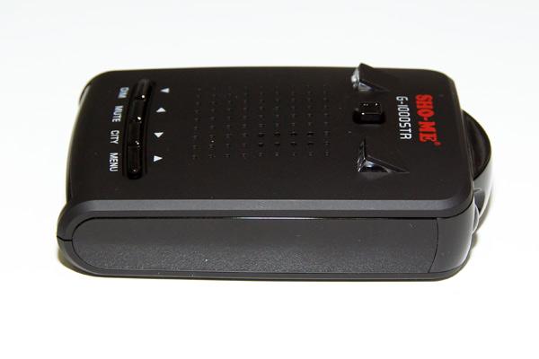 SHO-ME G-1000 STR – автомобильный радар-детектор (антирадар) с GPS-приемником, тест