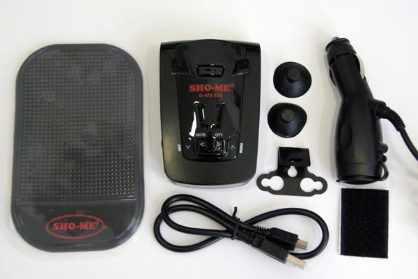 SHO-ME G-475 STR – автомобильный радар-детектор (антирадар) с GPS-приемником, тест