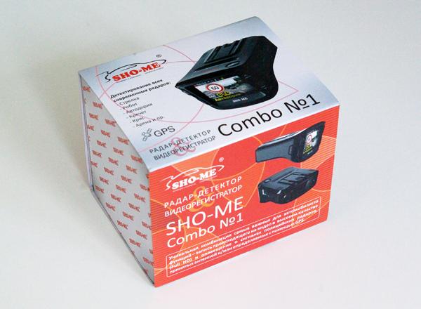 Тестируем радар-детектор совмещенный с автомобильным регистратором Sho-me Combo №1