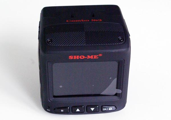 Тестирование автомобильного видеорегистратора совмещенного с радар-детектором Sho-Me Combo 3