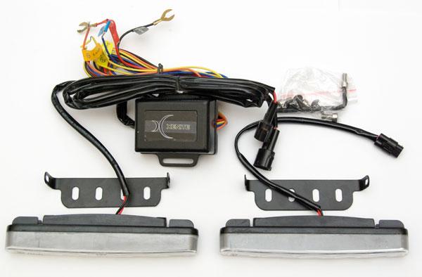 Дневные ходовые огни (DRL) XENITE LC-1016 SF, комплектация