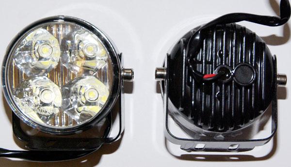 XENITE LC-807 SD – дневные ходовые огни (DRL), тест