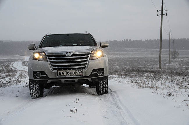 Great Wall H3 NEW зимой