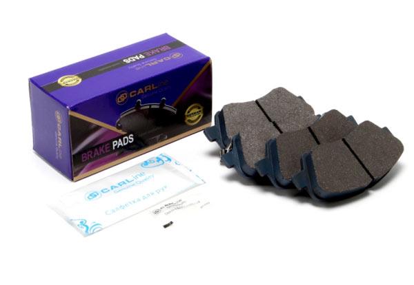 Упаковка тормозных колодок для автомобилей  Hyundai Solaris и Kia Rio: Bosch 0986494566