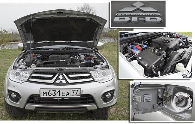 Mitsubishi Pajero Sport двигатель 2.5 DID H.P.