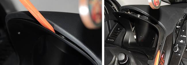 Разборка приборной панели Hyundai i40