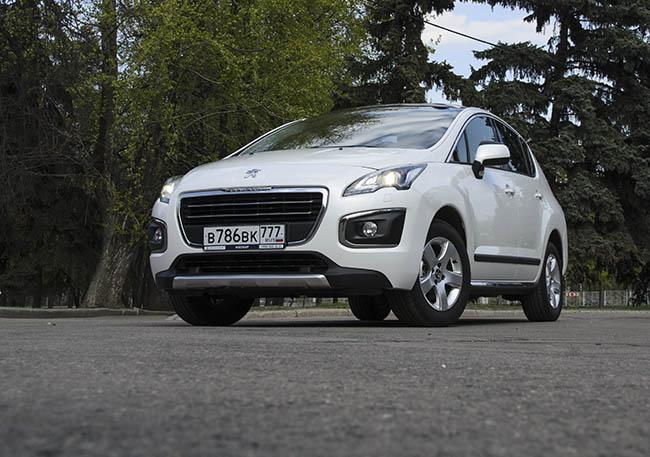Обновленный Peugeot 3008