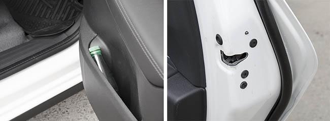 Задняя дверь обновленного Peugeot 3008