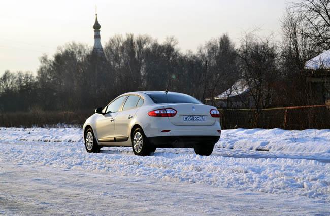 Обновленный Renault Fluence