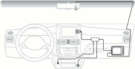 AXiOM Car Vision 1100 – автомобильный видеорегистратор для скрытной установки, тест