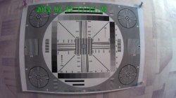 Запись испытательной таблицы сделанная видеорегистратором HighScreen BlackBox HD-Mini
