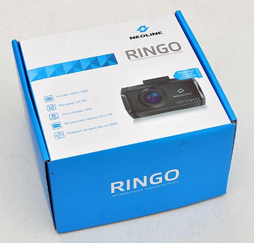 Коробка автомобильного Full HD видеорегистратора Neoline Ringo