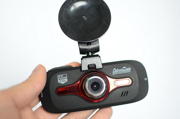 Тест топового автомобильного Super Full HD-регистратора AdvoCam-FD8 Profi Red
