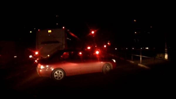 Запись экшн-камеры (спортивного видеорегистратора) ParkCity GO 10 PRO, ночь.