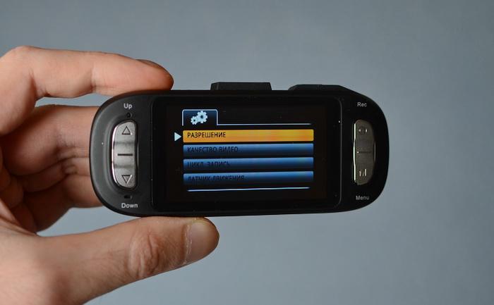 Как настроить g сенсор в видеорегистраторе
