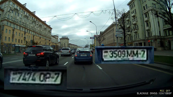 Тест-обзор корейского видеорегистратора BlackVue DR450-1CH GPS