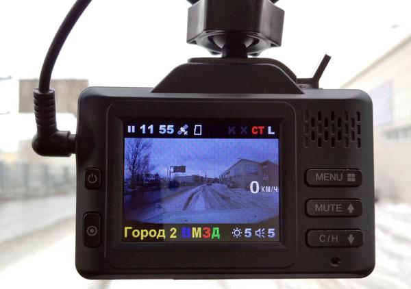 Тестируем автомобильный видеорегистратор с радар-детектором - INTEGO SAPSAN