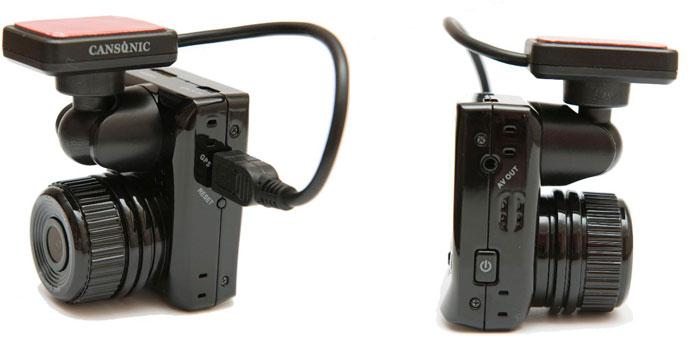 Cansonic CDV-800 – автомобильный Full HD видеорегистратор, тест