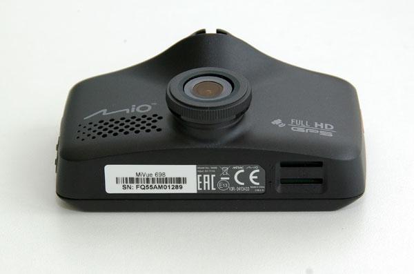 Mio MiVue 698 – автомобильный Full HD видеорегистратор с двумя камерами, тест