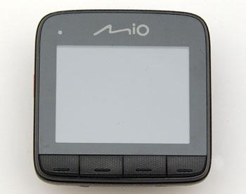 Автомобильный видеорегистратор Mio MiVue 528. Управление устройством как и моделях прошлого года производится при помощи четырех кнопок.