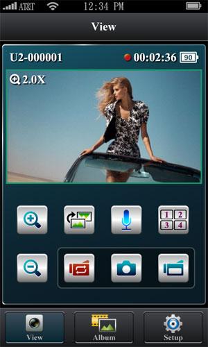 На Google Play лежит мобильное приложение для работы с видеорегистратором Highscreen Black Box Connect   по протоколу  Wi-Fi