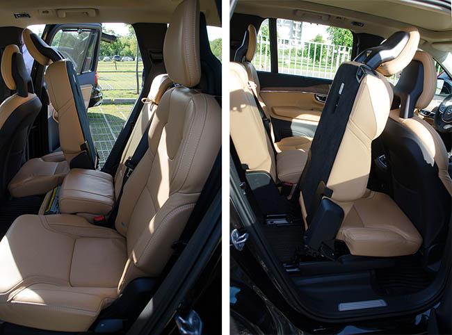 второй ряд сидений XC90
