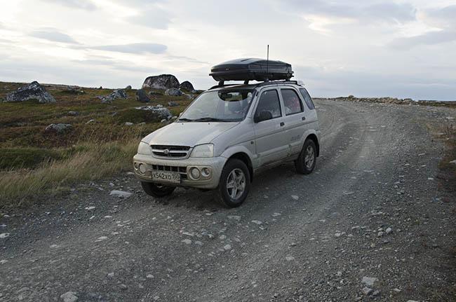 Daihatsu Terios на полуострове Рыбачий