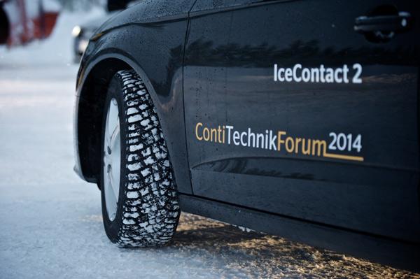 Зимняя шипованная резина Continental IceContact 2 – технологии и тесты