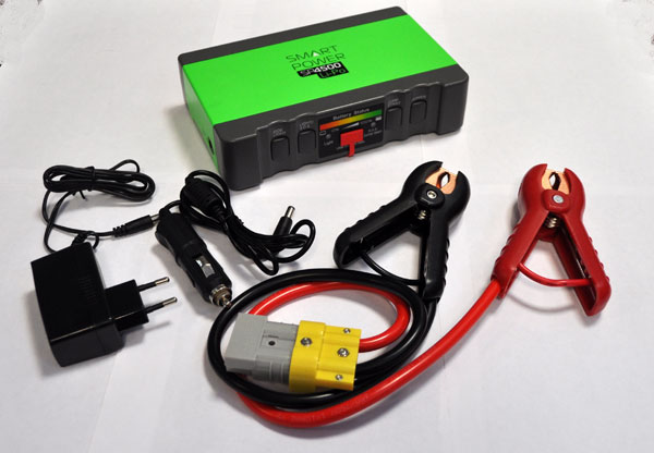 Тест стартового бустера (пуско-зарядного устройства) BERKUT Smart Power SP-4500