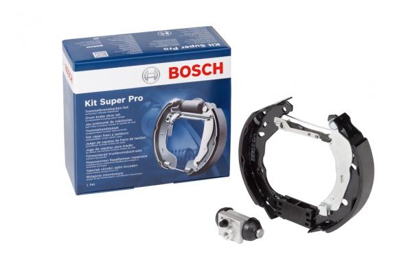 Kit Pro включает все необходимые компоненты системы для замены (набор колесных тормозных цилиндров на одну ось, комплект тормозных колодок, монтажные комплектующие и стяжные пружины)