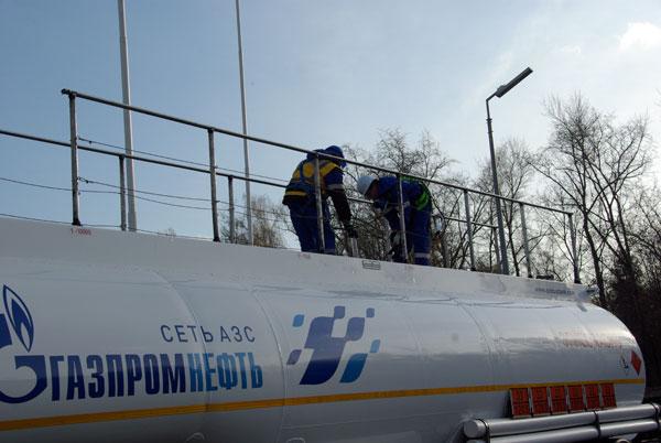Путь топлива G-Drive от Московского НПЗ до АЗС «ГазпромНефть» в фотографиях.
