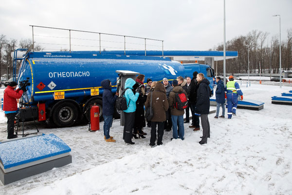 День качества прошел на АЗС «Газпромнефть» в Москве
