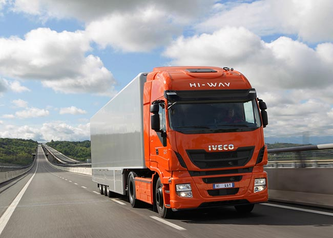 В обновленной линейке тягачей Iveco Stralis Hi-Way 8 дизельных двигателей