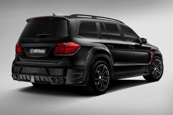 Тюнинг-комплект ателье Larte Design для Mercedes-Benz GL Black Crystal