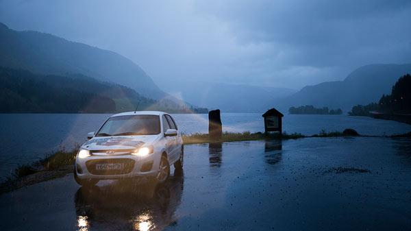 Путешествие в Норвегию на Лада Калина