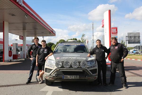 Райнер Цитлоу рассказал о рекордном автопробеге Магадан Лиссабон