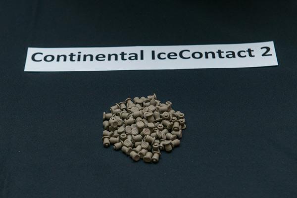 Российская зимняя шипованная резина Continental IceContact 2 (г. Калуга)