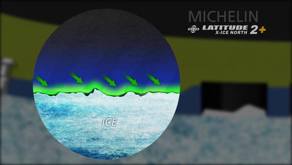 MICHELIN LATITUDE X-ICE NORTH 2+ - зимняя шипованная резина, обзор