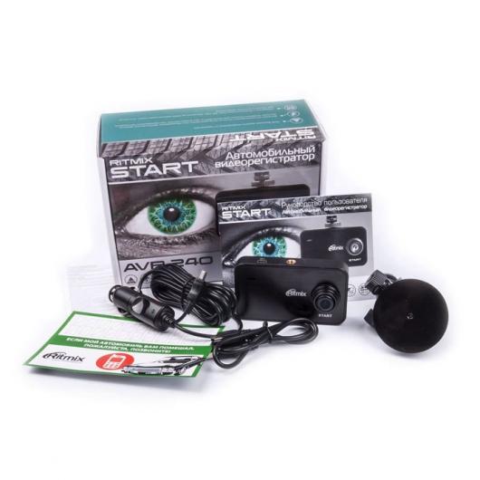 RITMIX AVR-240 (SMART) – автомобильный видеорегистратор с поддержкой записи HD