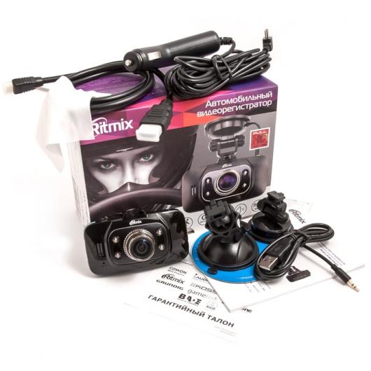 RITMIX AVR-832 – автомобильный видеорегистратор с поддержкой записи Full HD и GPS
