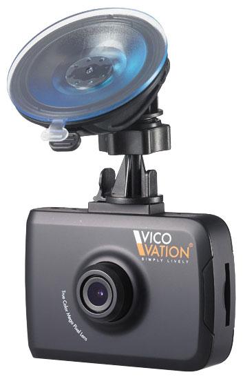 Автомобильный видеорегистратор Vico-TF2+ Premium на кронштейне.