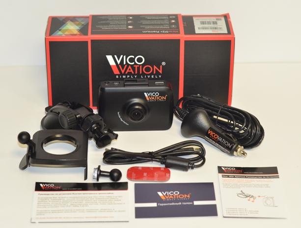 Автомобильный видеорегистратор Vico-TF2+ Premium комплектация.