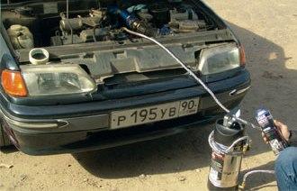 Применение препарата для очистки бензиновой системы питания двигателя Liqui Moly Pro-line Benzin-System-Reiniger