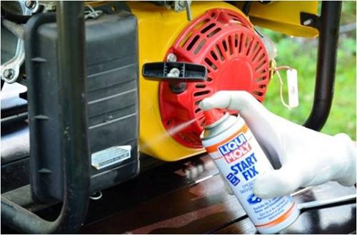 Обслуживание генераторов и силовой техники при помощи автохимии Liqui Moly