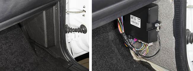Подключение концевика багажника UAZ Patriot к сигнализации