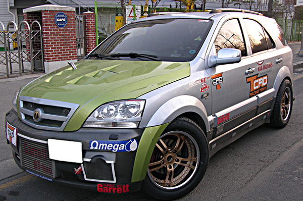 киа соренто 2004 года тюнинг фото