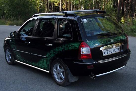 Самостоятельный тюнинг Lada Kalina универсал