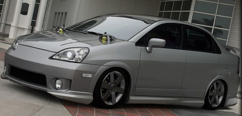 Самостоятельный тюнинг автомобиля Suzuki Liana
