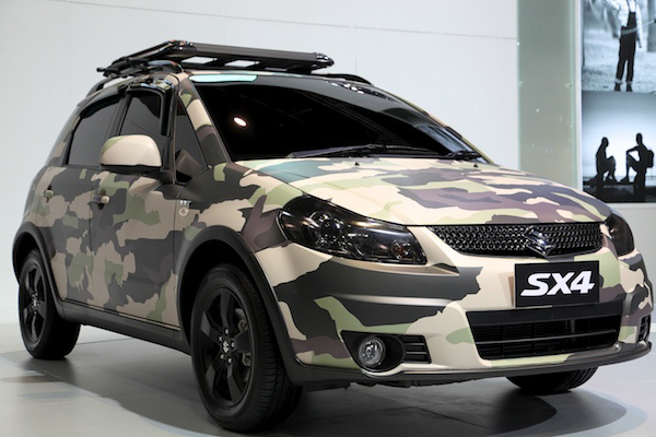 Самостоятельный тюнинг Suzuki SX4
