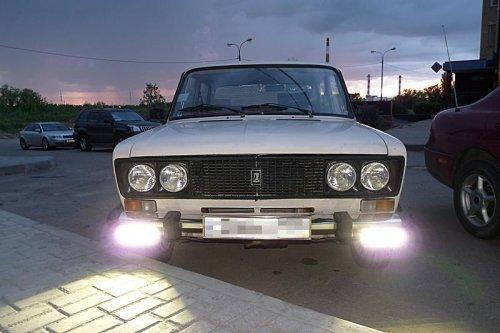 ходовые огни DRL на ВАЗ-